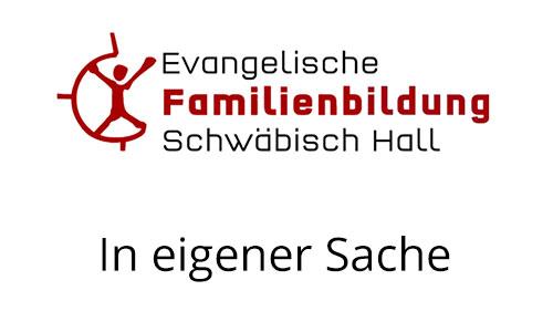 evangelische familienbildung schw bisch hall brenzhaus. Black Bedroom Furniture Sets. Home Design Ideas